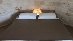 Il letto del trullo